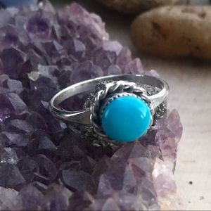 Jewelry - 🆕 Navajo Sterling Silver Turquoise Ring Size 4.5